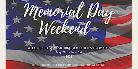 Memorial Day Weekend tickets