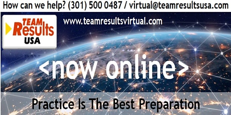 Team Results Masterclass - Virtual tickets