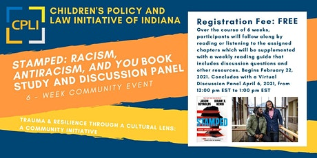 A Community Initiative Book Study and Discussion Panel tickets