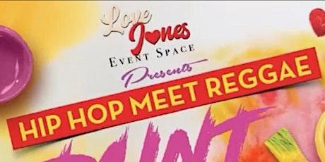 Hip Hop Meets Reggae Paint & Sip Night tickets