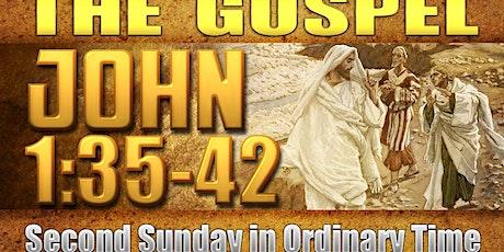Sunday Mass, January 17, Netzaberg Chapel, 0830 Tickets