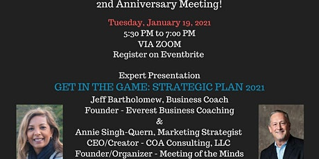 Meeting of the Minds - Get in the Game: Strategic Plan 2021 tickets