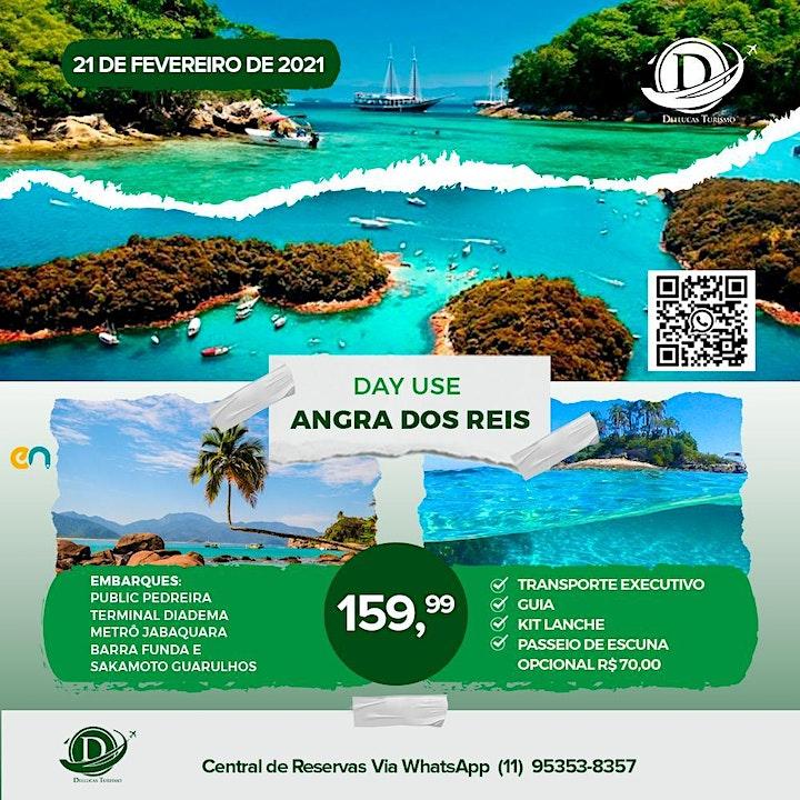 Imagem do evento Day Use Angra Dos Reis - 21 de Fevereiro