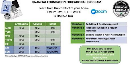 Copy of Financial Literacy Workshop (Series 4) tickets