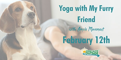 Yoga With My Furry Friend (Yoga with Animals) tickets