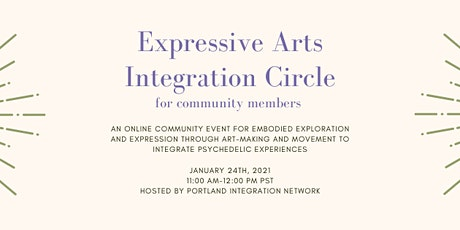 Expressive Arts Integration Circle for Community tickets