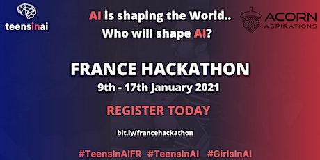 Teens In AI France Hackathon tickets