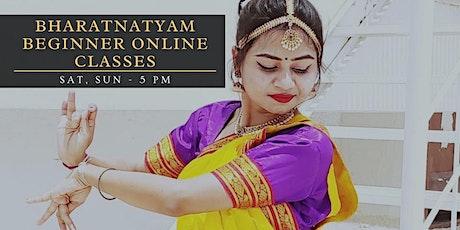 Bharatnatyam Online Class tickets