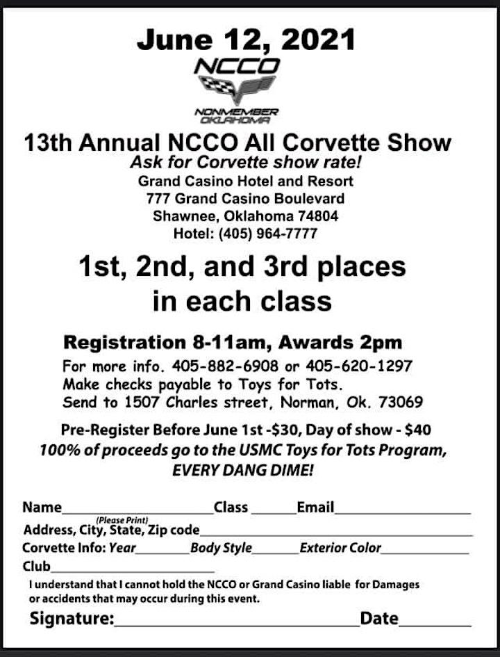 "NCCO ""Corvettes at The Grand "" image"