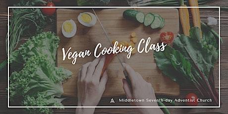 Online Vegan Cooking Class tickets