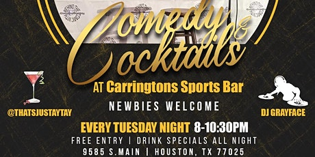 FREE Comedy & Cocktails-Open Mic & Show tickets