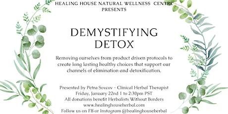 Demystifying Detox tickets
