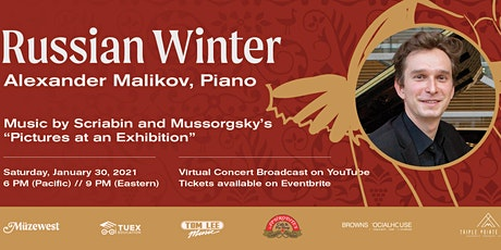 Russian Winter - A piano recital by Alexander Malikov tickets