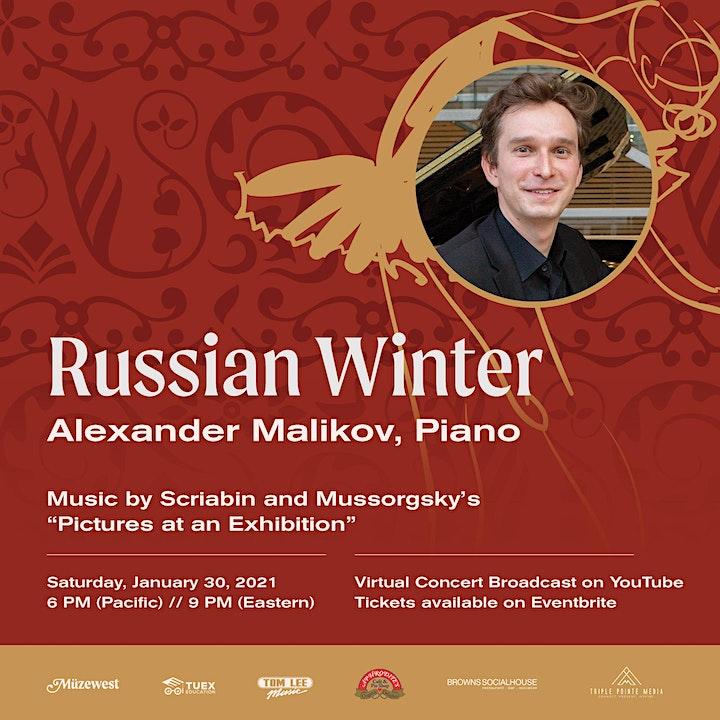 Russian Winter - A piano recital by Alexander Malikov image