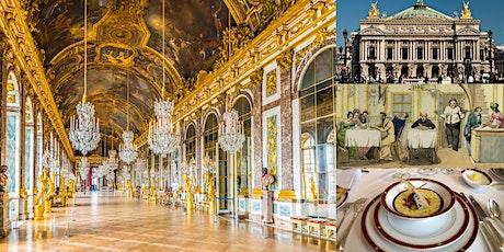 'Grande Cuisine to Grand Opera: The History of French Food & Opera' Webinar billets