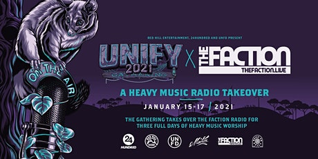 UNIFY 2021: A Heavy Music Radio Takeover tickets