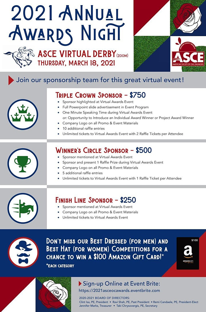 Additional Plaques-2021 ASCE Awards Night image