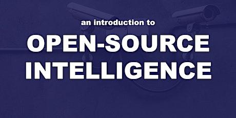 Open Source Intelligence (OSINT) for Beginners tickets