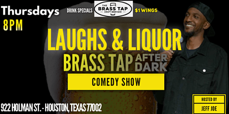 Laughs & Liquor Brass Tap After Dark Comedy Show tickets