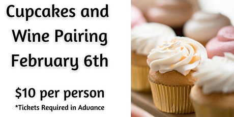 Cupcakes and Wine Pairing-GRANTVILLE tickets