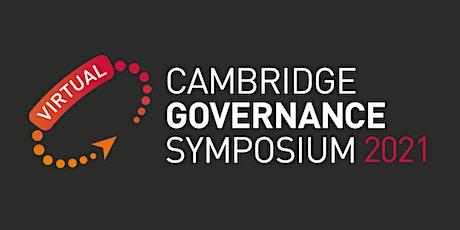 Cambridge Governance Symposium 2021 tickets