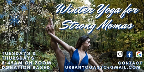 Winter Yoga for  Strong Momas tickets