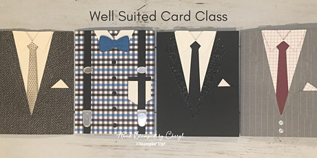 Well Suited Card Class tickets