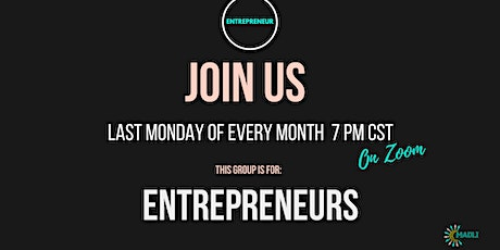 Entrepreneur Circle's Motivational Monday tickets