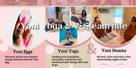 Online Yoni Yoga and Yoni Steam Nite tickets
