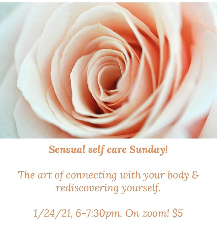 Sensual Self-care Sunday! image