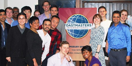 International Speech and Evaluation Contest - Bloomsbury Speakers Online tickets
