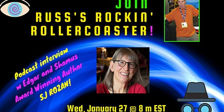 Russ Colchamiro interviews award-winning CRIME and MYSTERY author SJ ROZAN! tickets