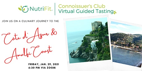 NutriFit Virtual Guided Tasting Experience : Travel Series tickets
