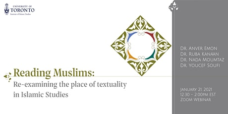Reading Muslims: Re-examining the place of textuality in Islamic Studies tickets