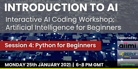 Interactive AI Coding Workshop: Python For Beginners tickets