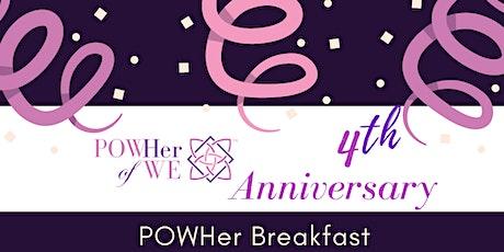 POWHer Breakfast tickets