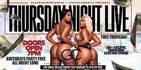 THURSDAY NIGHT VIP @ GENTLEMEN'S CLUB tickets