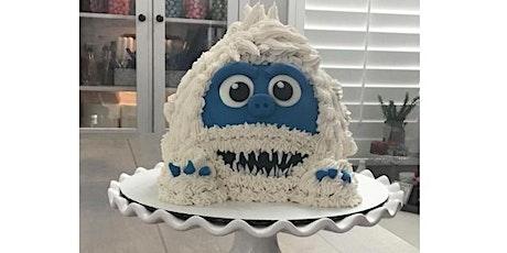 Yeti Cake Online with Cake Kit ingressos
