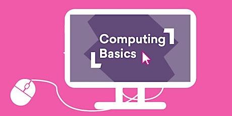 Computing Basics @ Bridgewater Library PART 1 tickets
