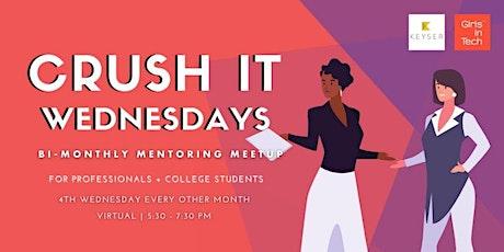 Girls In Tech Phx VIRTUAL Mentoring Meetup tickets