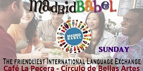 GREAT LANGUAGE EXCHANGE EVERY SUNDAY IN MADRID (CIRCULO DE BELLAS ARTES) entradas