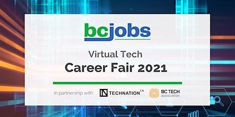 Virtual Tech Talent Day - BC Jobs & TECHNATION tickets