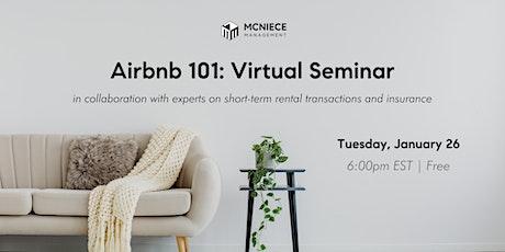 Airbnb 101: Virtual Seminar tickets