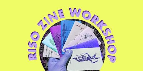 RISO ZINE WORKSHOP tickets