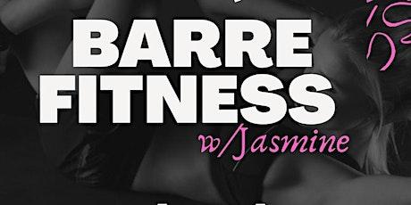 Barre Fitness Class tickets