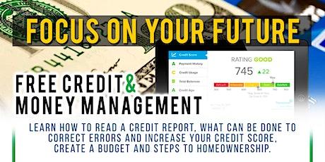Free Credit & Money Management VIRTUAL Workshop tickets
