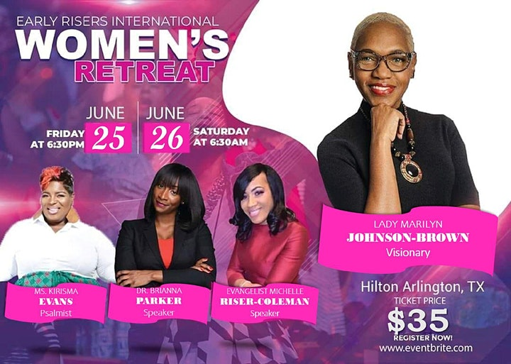 Early Risers International Annual Retreat For Women image