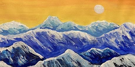 Fri-Yay! Paint Night - Snowy Mountain Range tickets