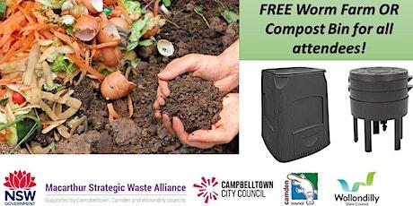 Worm Farming & Composting @ MCSL tickets