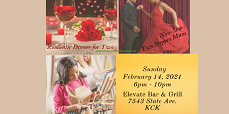 Valentine's  Dinner, Paint & Step Party tickets